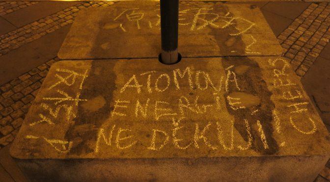 Nuklear free future! @プラハ