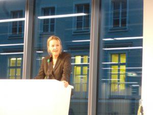 緑の党の核・エネルギー政策担当、Sylvia Kotting-Uhl氏