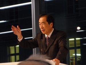 Naoto Kan, Former Prime Minister of Japan (Photo:Tsukasa Yajima)