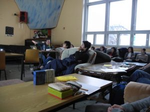 2017-1-21 福島県教育委員会作成放射線教育用学習ビデオ教材についての勉強会の様子